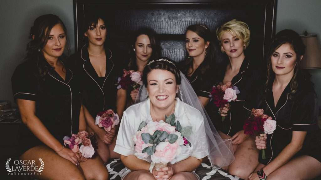 Briudal party, London, Ontario Wedding Photography