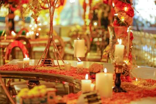 Hindu's Wedding - Table Reception, London, Ontario