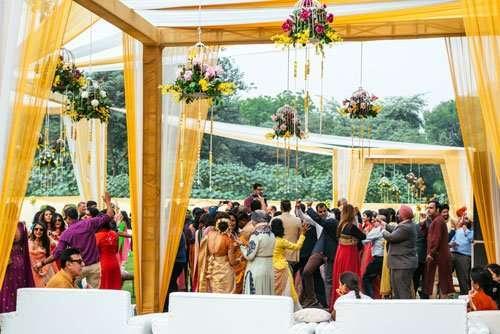 Hindu Wedding Reception, Ontario